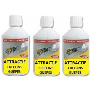 Recharges 500 ml, anti frelons et drosophiles